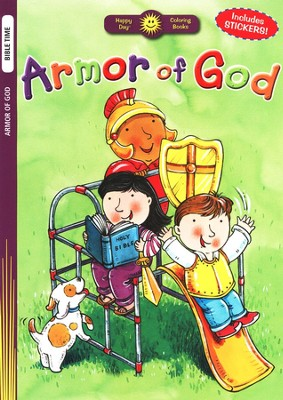 Armor of God Coloring Book  -