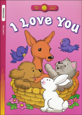 I Love You Coloring Book   -     Illustrated By: Jane Yamada