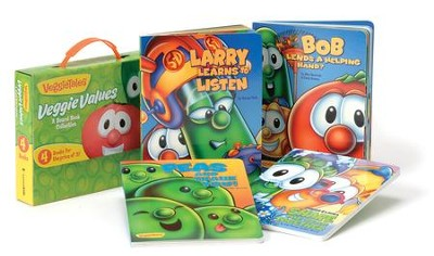 VeggieTales Veggie Values: A Board Book Collection - Slightly Imperfect  -