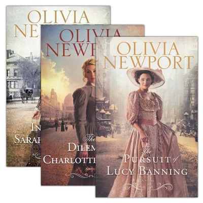 Avenue of Dreams Series, Volumes 1-3  -     By: Olivia Newport