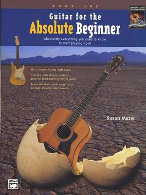 Alfred's Guitar for the Absolute Beginner--Book and DVD  -     By: Susan Mazer