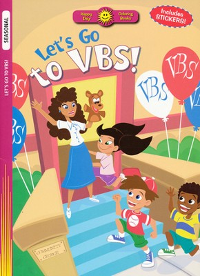 Let's Go to VBS! Coloring Book   -     Illustrated By: Scott Burroughs