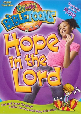 God Rocks! BibleToons: Hope in the Lord, CD-ROM/DVD Curriculum  -