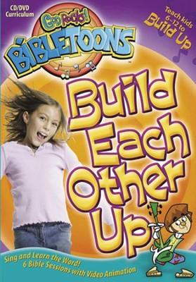 God Rocks! BibleToons: Build Each Other Up, CD-ROM/DVD Curriculum  -