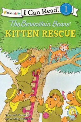 The Berenstain Bears' Kitten Rescue  - Slightly Imperfect  -     By: Jan Berenstain, Mike Berenstain