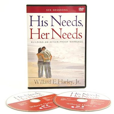 His Needs, Her Needs: Building an Affair-Proof Marriage, DVD  -     By: Willard F. Harley
