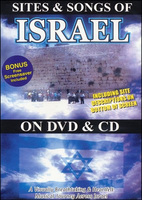 Sites & Songs of Israel (DVD & CD)   -