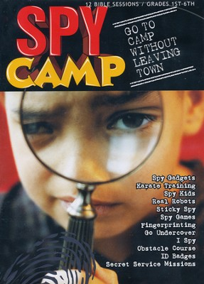 Spy Camp  -     By: Tracy Carpenter