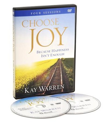 Choose Joy: Because Happiness Isn't Enough, DVD   -     By: Kay Warren