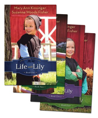 The Adventures of Lily Lapp Series, Volumes 1-4  -     By: Mary Ann Kinsinger, Suzanne Woods Fisher