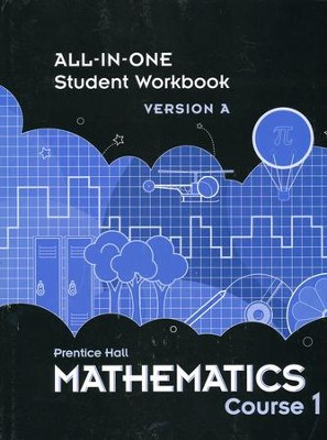 Prentice Hall Mathematics Grade 6 (Course 1) Student Workbook  -