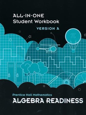 Prentice Hall Mathematics Algebra Readiness Student Workbook  -