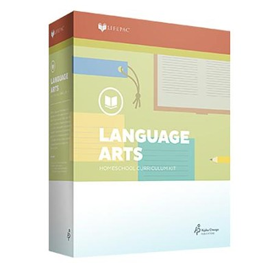 Lifepac Language Arts, Grade 4, Complete Set   -