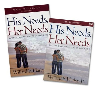 His Needs, Her Needs, DVD & Participant Guide   -     By: William F. Harley