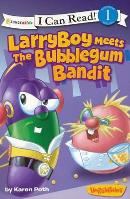LarryBoy Meets the Bubblegum Bandit  -