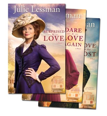 Heart of San Francisco Series, Vols. 1-3   -     By: Julie Lessman