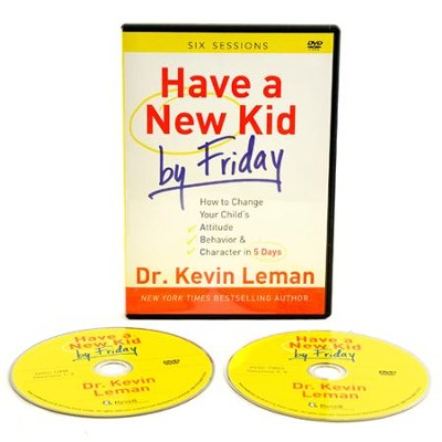 Have a New Kid By Friday DVD  -     By: Dr. Kevin Leman