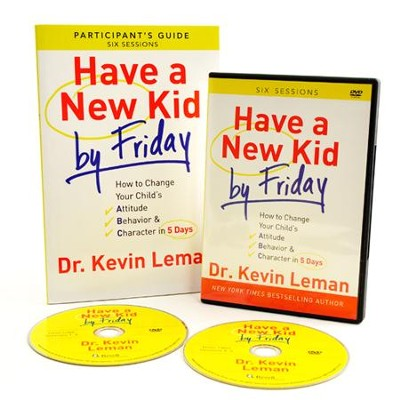 Have a New Kid by Friday DVD and Particpant's Guide  -     By: Dr. Kevin Leman