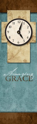 Amazing Grace Wall Clock  -