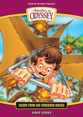 Adventures in Odyssey ® New Video Series #2: Escape from the Forbidden Matrix, DVD  -     By: Focus on the Family