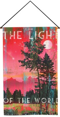 I Am the Light of the World Wallhanging  -     By: Patrick Reid O'Brien