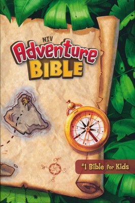 NIV Adventure Bible, hardcover - Slightly Imperfect  -