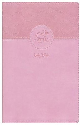 Baby Keepsake Bible, Pink  -     By: Tracy Harrast