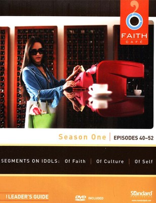 Faith Caf&#233 Season One: Episodes 40-52, Leader's Guide with DVD  -