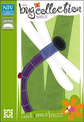 The NIV Bug Collection Bible, Italian Duo-Tone, Dragonfly  -