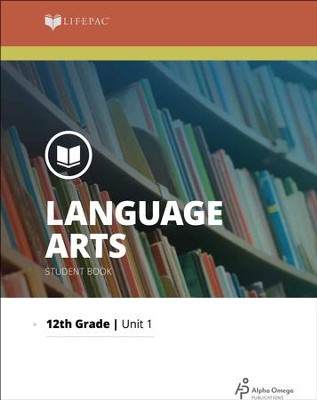 Lifepac Language Arts, Grade 12, Complete Set   -