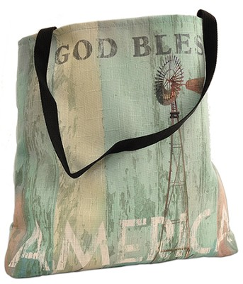 God Bless America Tote  -     By: Patrick Reid O'Brien