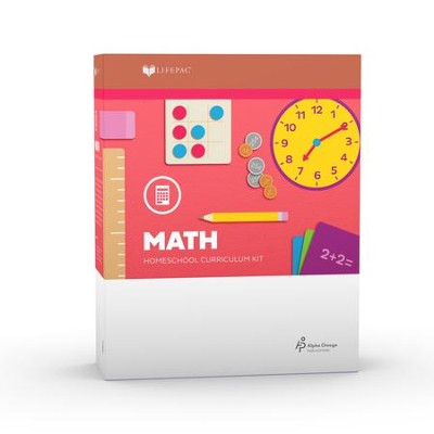 Lifepac Math, Grade 1, Complete Set   -