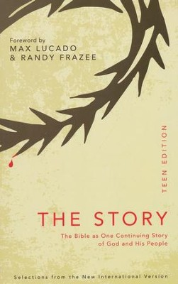The Story: Teen Edition: Read the Bible as one seamless story from beginning to end, Softcover - Slightly Imperfect  -