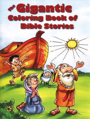 Gigantic Coloring Book of Bible Stories  -
