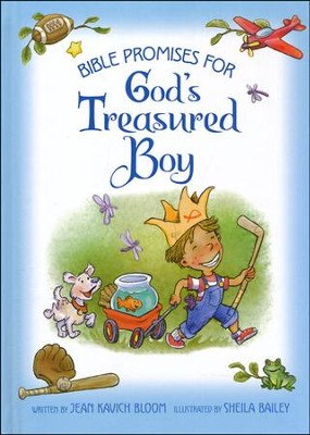 Bible Promises for God's Treasured Boy  -     By: Jean Kavich Bloom     Illustrated By: Sheila Bailey