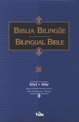 Biblia Biling&#252e NVI/NIV, Piel Imitada Negra  (NVI/NIV Bilingual Bible, Imitation Leather Black)  -