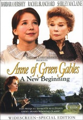 A New Beginning: Anne of Green Gables DVD  -