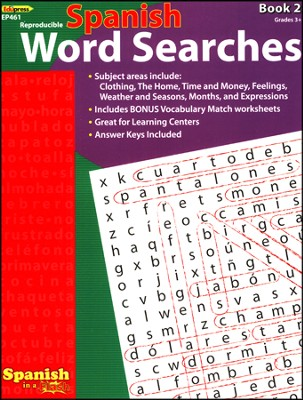 Spanish Word Searches, Book 2  -