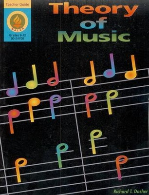 Theory of Music Teacher's Guide  -     By: Richard Dasher