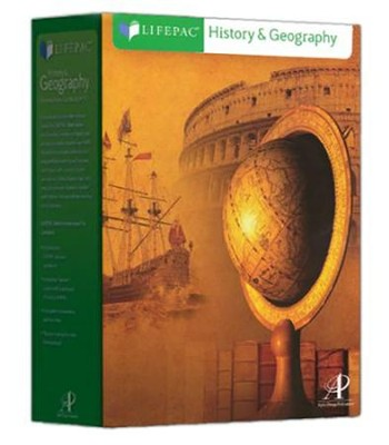 Lifepac History & Geography, Grade 2 Complete Set   -