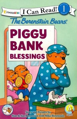 The Berenstain Bears Bears Piggy Bank Blessings   -