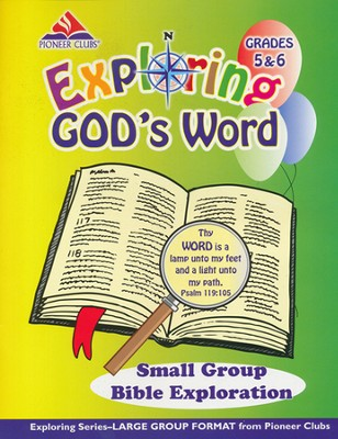 Exploring God's Word Small-Group Leader Bible Exploration (Grades 5-6)  -