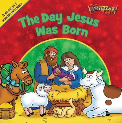 The Day Jesus Was Born/The Angel Brings Good News: Beginner's Bible Christmas Flip Book  -