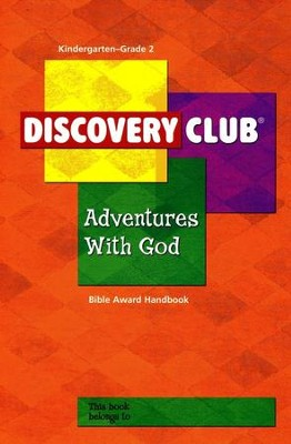 Adventures with God Kids Bible Award Handbook, Grades K-2    -