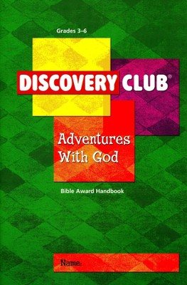 Adventures with God Kids Handbook (Grades 3-6)  -