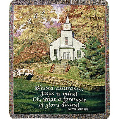 Blessed Assurance Throw  -