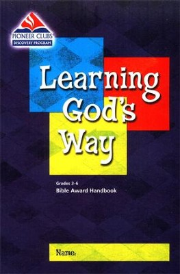 Learning God's Way Kids Handbook (Grades 3-6)  -