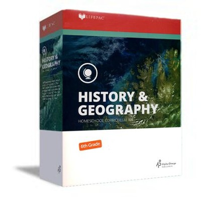 Lifepac History & Geography Complete Set, Grade 6   -