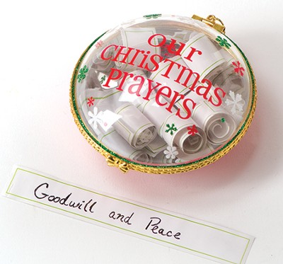 Christmas Prayers Ornament  -
