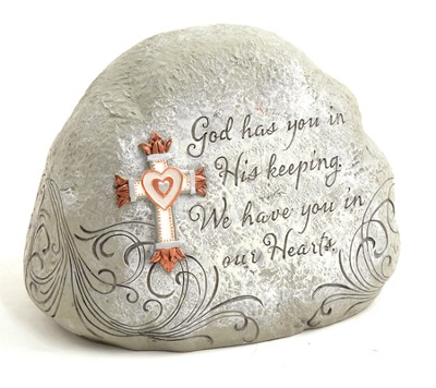 God Has You in His Keeping Garden Stone  -